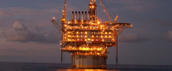 Aramco offshore field