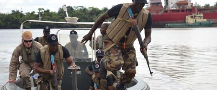 Nigerian Marines