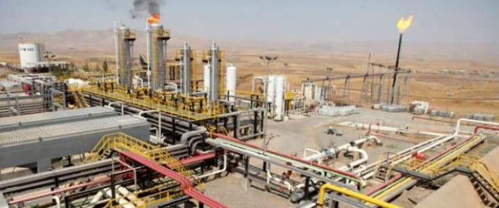 Oil field Middle East