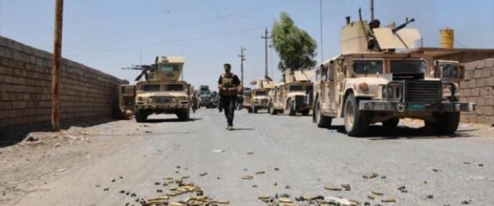 Mosul humvee's