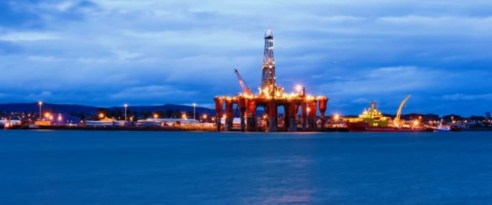 UK Oil Rig