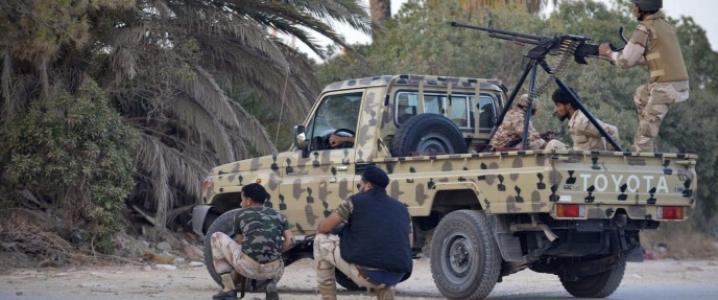 Libya pickup