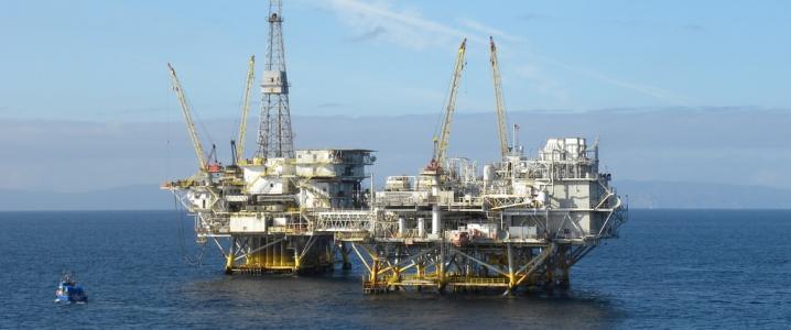 UAE offshore rig