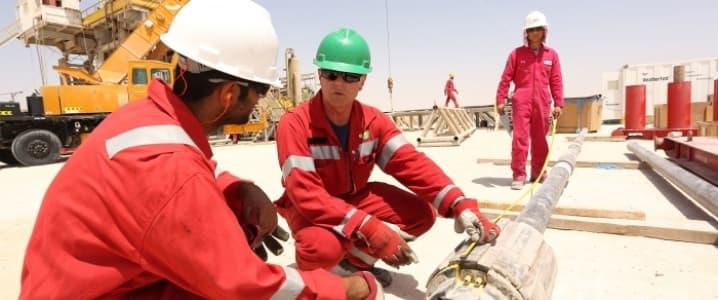 Kazzan Gas field Oman
