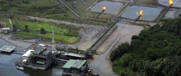 Niger Delta oil installation