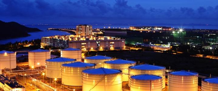 Oil terminal Asia