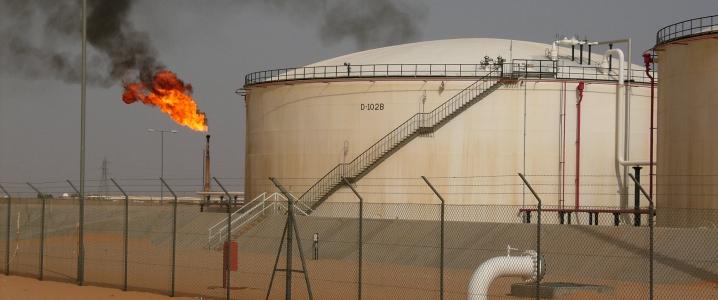 Oil field Africa