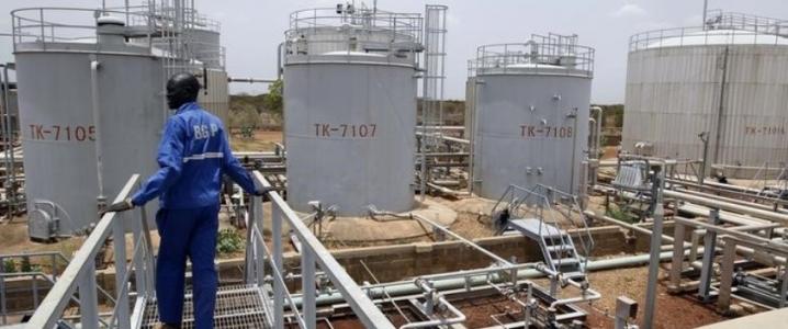 Sudan oil production
