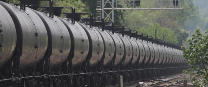 Crude oil train