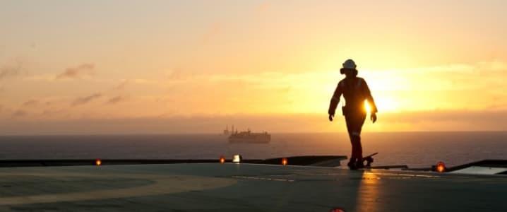 Offshore rig horizon