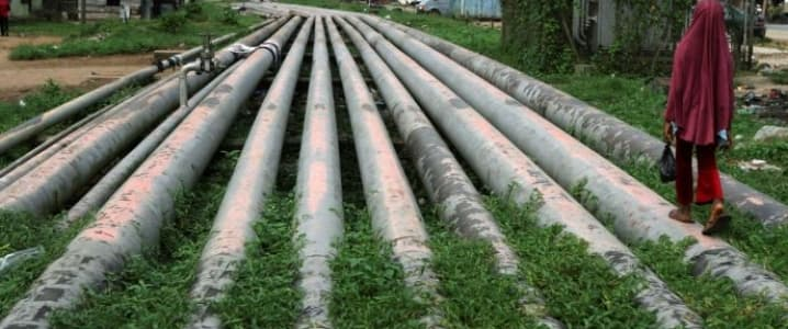 Nigeria oil pipeline
