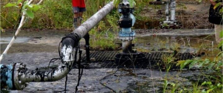 Nigeria Bayelsa Oil Spill