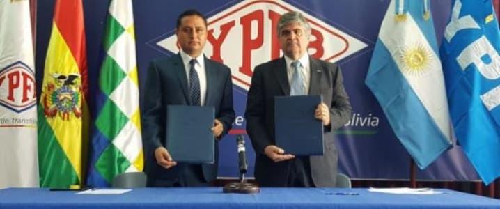 Bolivia Argentina gas deal