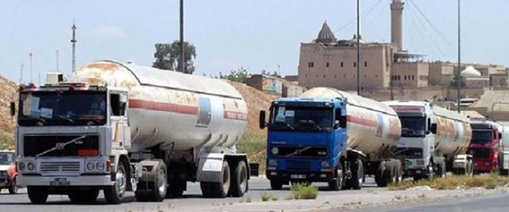 Iraq oil trucks