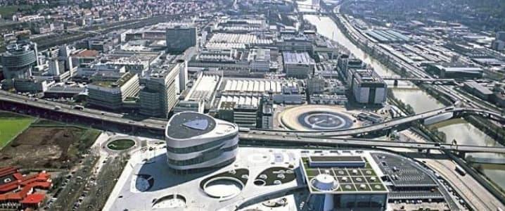 Stuttgart Daimler HQ
