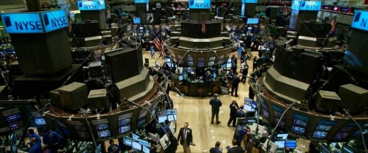 Trading floor NYSE
