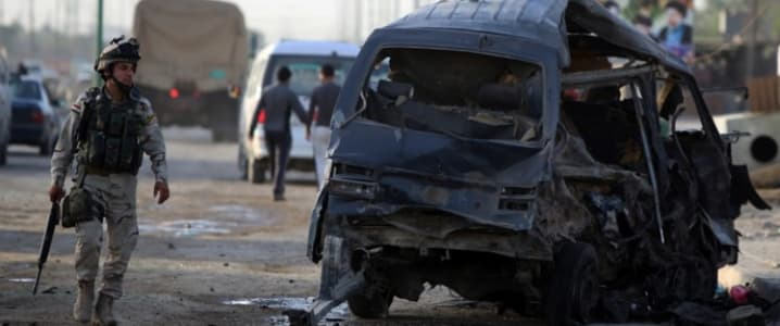 Baghdad terror strikes