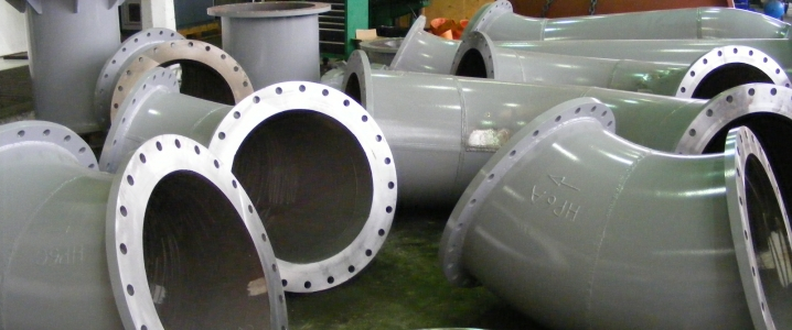 Gas pipeline pieces
