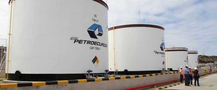 Storage tanks Petroecuador