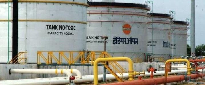 India oil storage