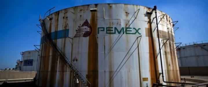 Pemex oil storage