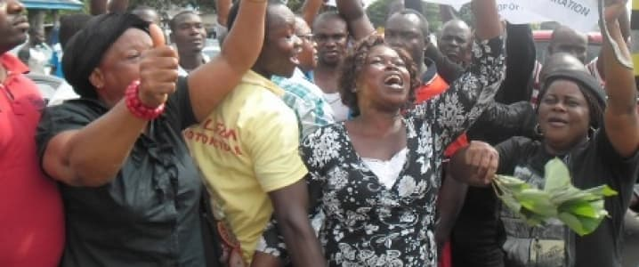 Exxon Blockade In Nigeria