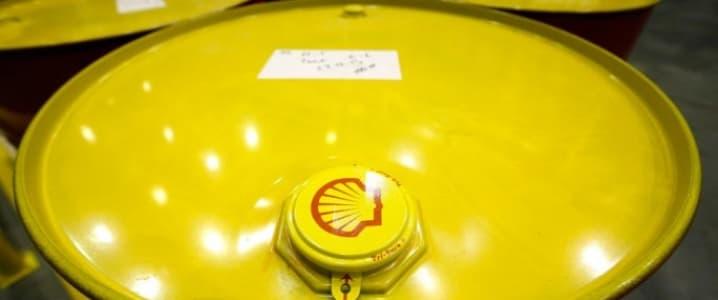 Shell Oil barrel