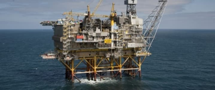 Chevron Offshore Oil Rig