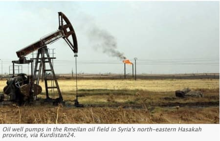 Oil At Stake In Syria