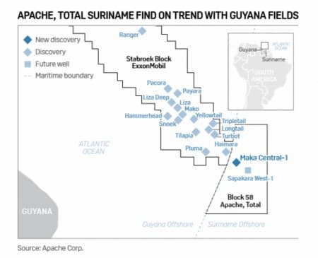 An Important Discovery Related To >> How Important Is The Suriname Oil Discovery Oilprice Com